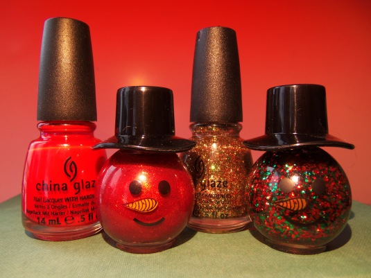 6 - Opal's Gems - Christmas nails