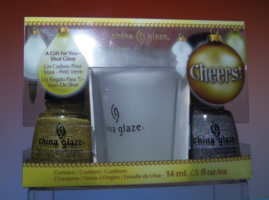 1 - Opal's Gems - China Glaze Cheers set